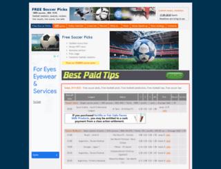 free-soccer-picks.com screenshot