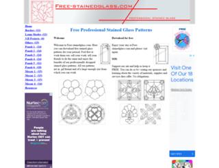 free-stainedglass.com screenshot