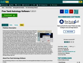 free-tamil-astrology-software.soft112.com screenshot
