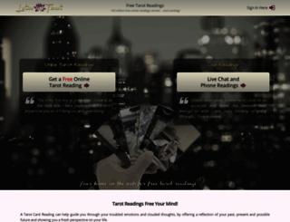 free-tarot-reading.net screenshot