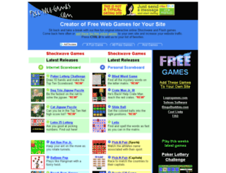 free-web-games.com screenshot