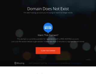 free.x10hosting.com screenshot