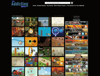freeaddictinggames.com screenshot