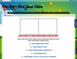 freeangrybirdgameonline.blogspot.com screenshot