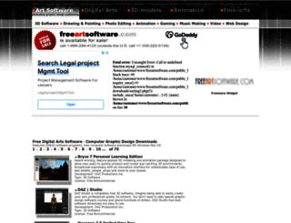 freeartsoftware.com screenshot