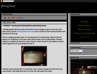 freebeingfree.blogspot.com screenshot