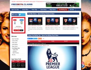 freebets.claims screenshot