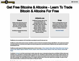 freebitcoins.com screenshot