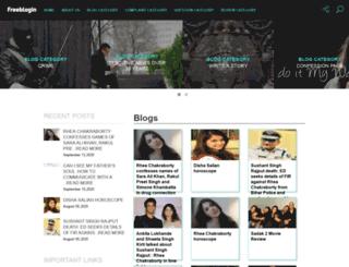 freeblogin.com screenshot