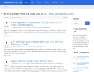 freebookmarktez.com screenshot