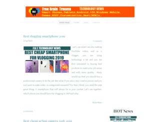 freebraintrauma.weebly.com screenshot