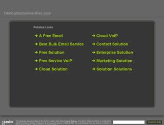 freebulkemailverifier.com screenshot