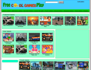 freecoolgamesplay.com screenshot