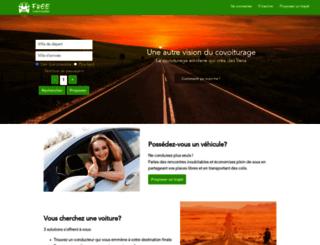 freecovoiturage.fr screenshot
