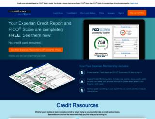 freecreditscore.com screenshot