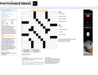 freecrosswordpuzzles.com.au screenshot