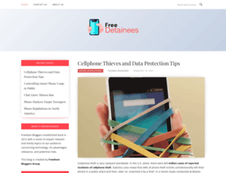 freedetainees.org screenshot