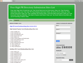 freedirectorywebsites.blogspot.com screenshot