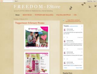 freedomestore.blogspot.com screenshot