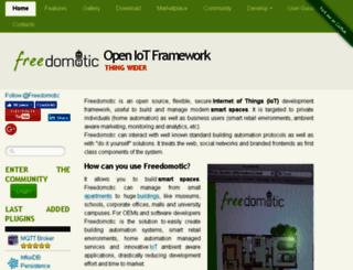 freedomotic.com screenshot