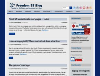 freedomthirtyfiveblog.com screenshot