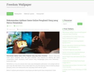 freedomwallpaper.com screenshot