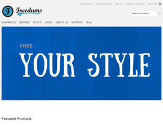 freedums.com screenshot