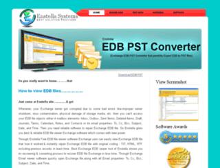freeedbfileviewer.edbpst.com screenshot