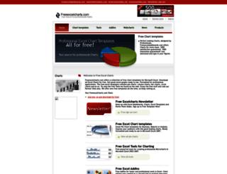 freeexcelcharts.com screenshot