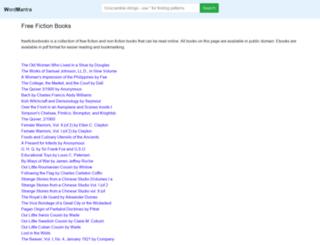 freefictionbooks.org screenshot