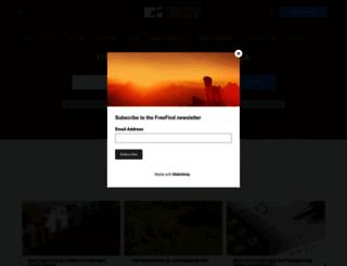 freefind.co.za screenshot