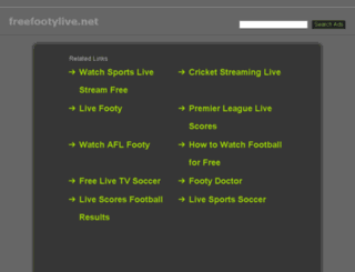 freefootylive.net screenshot