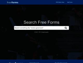 freeforms.com screenshot
