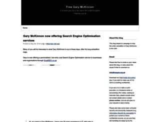 freegary.org.uk screenshot