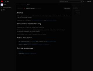 freehackers.org screenshot