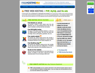 freehostingeu.com screenshot