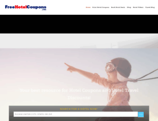 freehotelcoupons.com screenshot