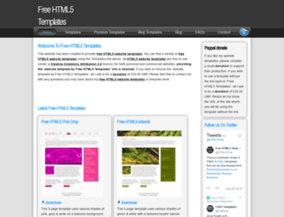 freehtml5templates.co.uk screenshot