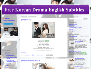 freekdramaengsub88.blogspot.com screenshot