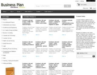 freelance.businessplaninternational.com screenshot