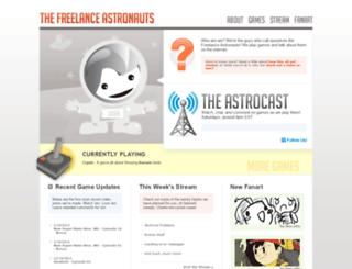 freelanceastronauts.com screenshot