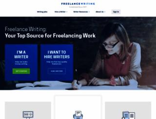 freelancewriting.com screenshot