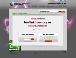 freelinkdirectory.ws screenshot
