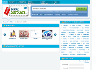 freelocaldiscounts.in screenshot