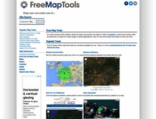 freemaptools.com screenshot
