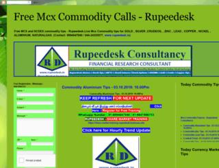 freemcxcommoditycalls.blogspot.in screenshot