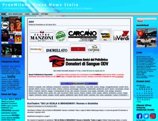 freemilano.wordpress.com screenshot