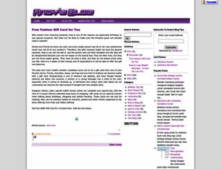 freemoneycommunity.blogspot.com screenshot