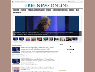 freenewsonline.it screenshot