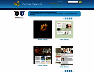 freenicetemplates.com screenshot